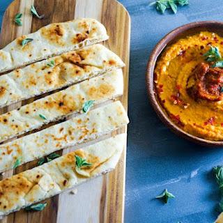 Sun-Dried Tomato and Feta Hummus