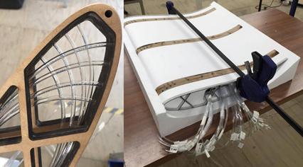 ANSYS Элементы аэродинамического обвеса, оборудованные датчиками давления для продувки