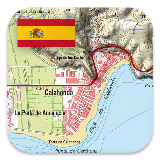 Topographical Map Of Spain.Spain Topo Maps Apps On Google Play