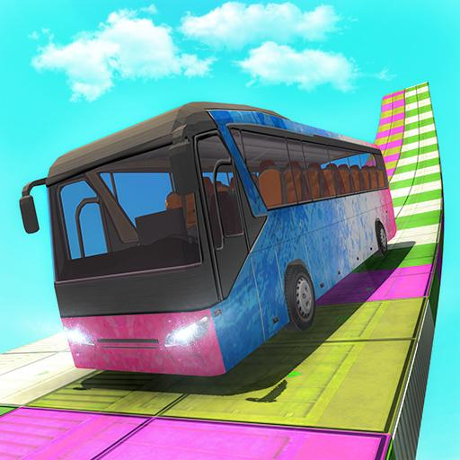 Sky Bus Driving Extreme Stunt Tracks