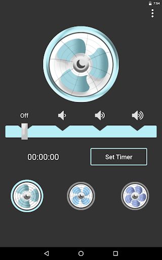 Screenshot for Sleep Aid Fan - White Noise Fan Background Sounds in United States Play Store
