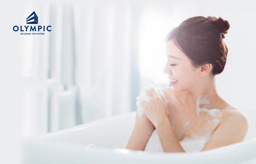 Tận hưởng nguồn nước nóng sạch đảm bảo sức khỏe