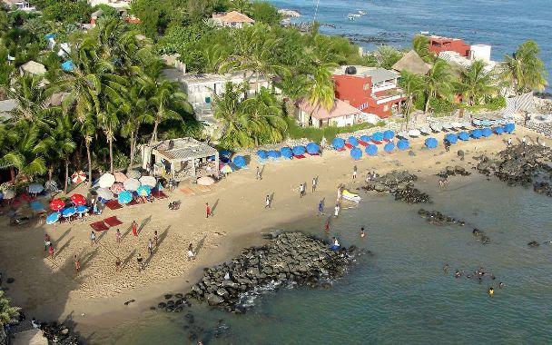 Praia da Ilha Gorée