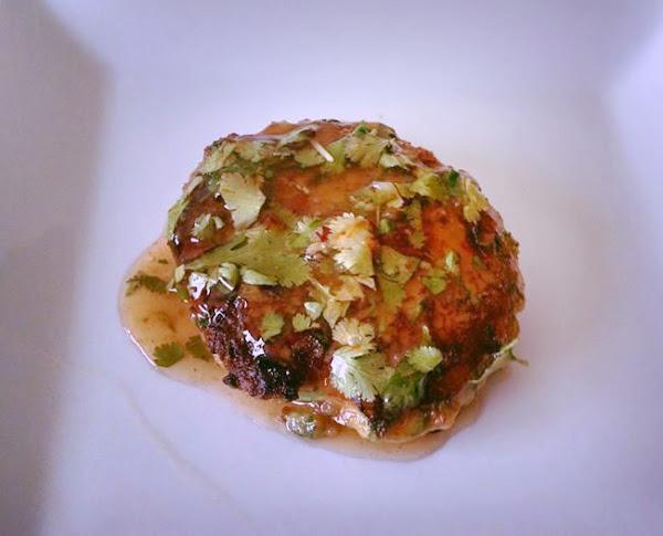 Thai Shrimp Cake W Sweet Cilantro Sauce Recipe