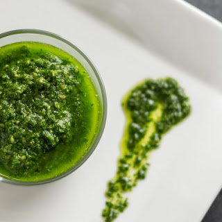 Simple Basil Pesto Sauce