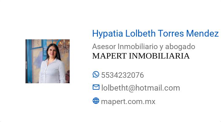 BusinessCard of Hypatia Lolbeth Torres Mendez