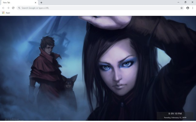Ergo Proxy New Tab & Wallpapers Collection