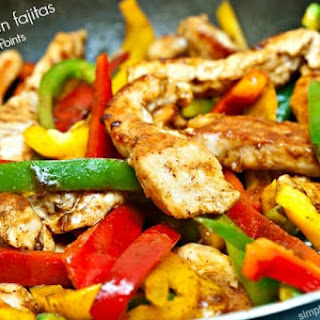 Easy Healthy Chicken Fajitas Recipe