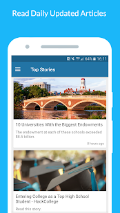 College & University Search- screenshot thumbnail