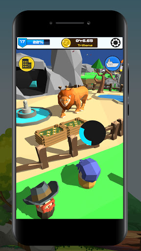 Idle Zoo 3D: Animal Park Tycoon android2mod screenshots 5