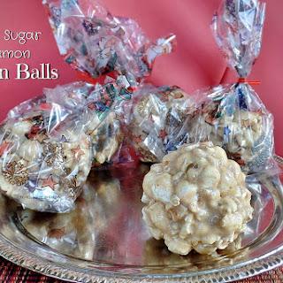 Brown Sugar Popcorn Ball Recipes