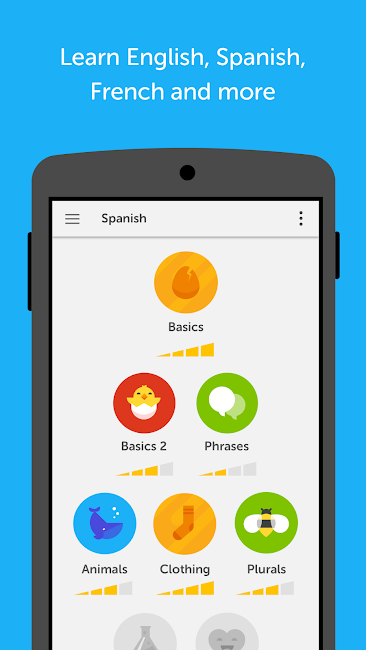 #1. Duolingo: Learn Languages Free (Android)