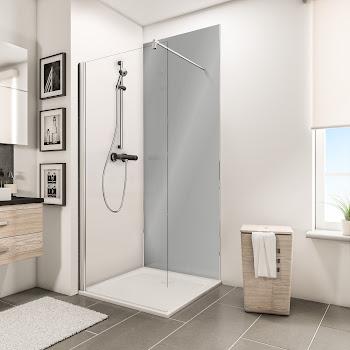 Panneaux muraux DecoDesign BRIO, reflex gris brillant