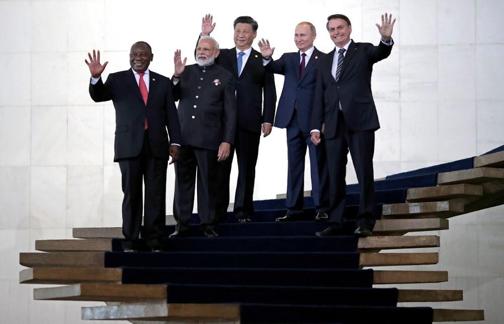 Brics leaders rail against destruction of multilateralism