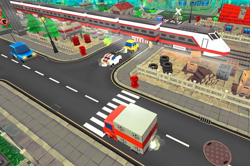 Chemin de fer train simulateur jeu de train de  captures d'écran 2