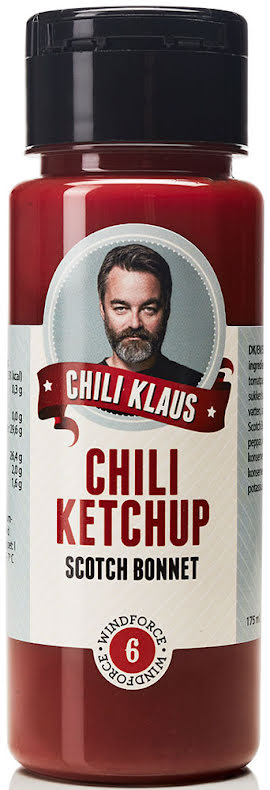Chiliketchup Scoth Bonnet med vindstyrka 6 – Chili Klaus