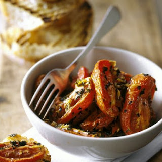 Grilled Plum Tomato Halves
