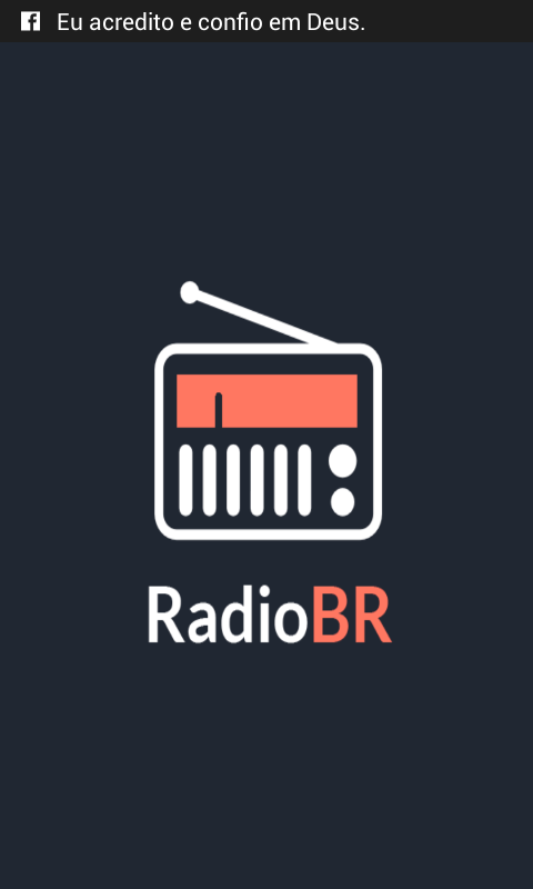 RadioBR- screenshot