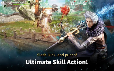 Blade&Soul Revolution Apk Download For Android and Iphone 7