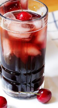 Bourbon Cherry soda Recipe