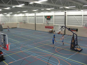 Photo: Grote sporthal begane grond.