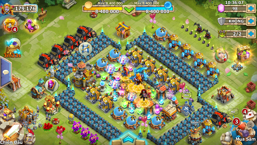 Castle Clash: Quyu1ebft Chiu1ebfn - Gamota  screenshots 12
