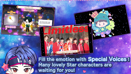 MY STAR GARDEN with SMTOWN APK screenshot thumbnail 4
