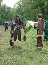 Photo: Tarorcraghs Heilpflanze lässt sich übrigens auch als Tarnung nutzen ;)