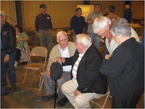 Photo: Seated:  Lee Doody, George Roach.