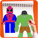 How to draw famous Superheroes steps for PC-Windows 7,8,10 and Mac