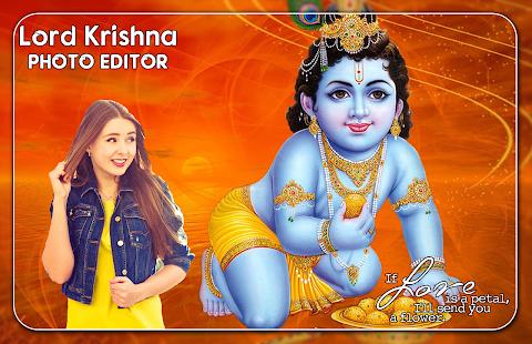 Lord Krishna Photo Editor - náhled