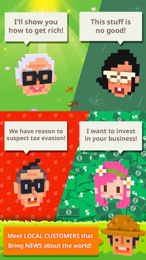 Screenshots of Hello, Mr.Rich for iPhone