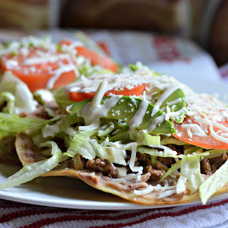 Traditional Mexican Tostadas