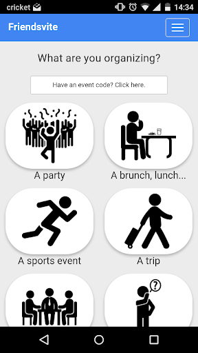 Friendsvite - Event Planner