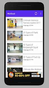 Home Workout No Zym or Equipment - náhled