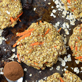 Coconut Carrot Cake Oatmeal Cookies.