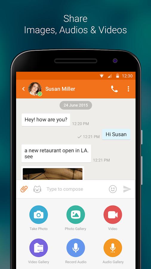 Nimbuzz Messenger / Free Calls- screenshot