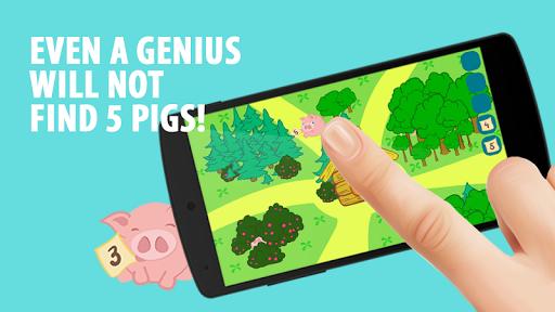 5隠れた豚ます。 漫画クエスト