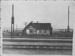 Photo: Станция Сельдь (за ней 3 площадка с бараками и первыми домами)