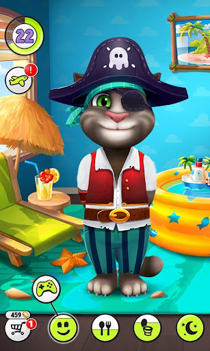 My Talking Tom  gameplay | by HackJr.Pw 5