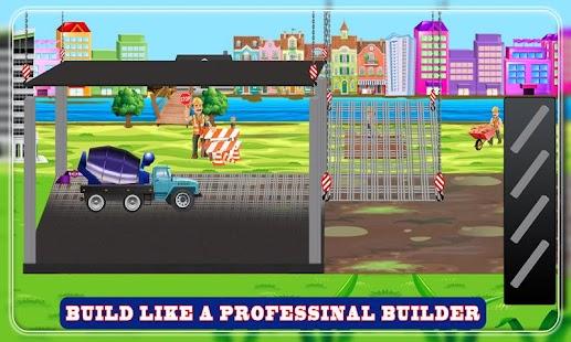 Build a Gym: Building Construction Simulator Game - náhled