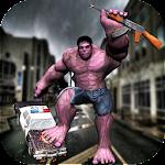 Incredible Superhero Monster City Battle Icon