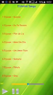 All song Djavan - náhled