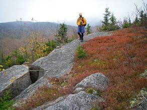 Photo: Beautiful hiking on open ledges.