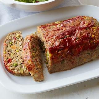 Turkey & Vegetable Meatloaf.