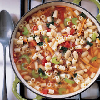 Hearty Pasta and Bean Soup.