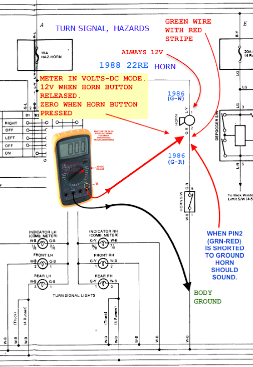 12v always means connected to power run