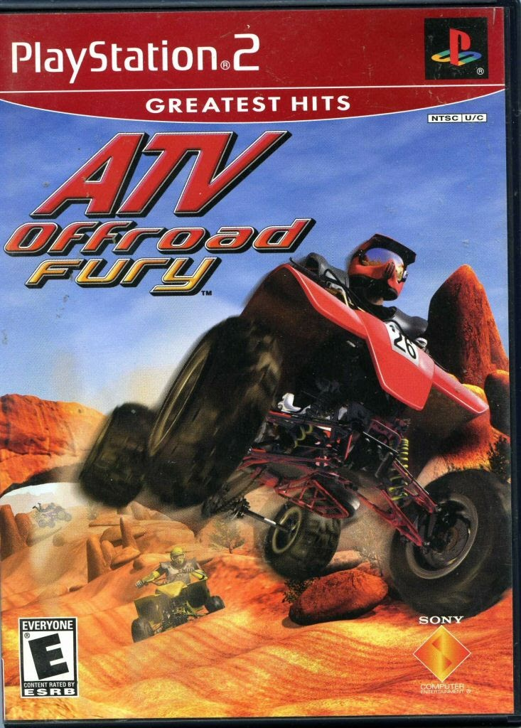 Video game:Sony PlayStation 2 Greatest Hits ATV Offroad Fury - Sony