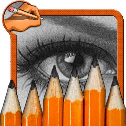 How to draw a Realistic Eyes 遊戲 App LOGO-硬是要APP