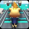 Subway Cat : dash & Run  Endless Simulator Game icon